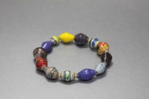 Bracelet made with Fair Trade Uganda beads
