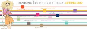 Pantone spring 2012 colors