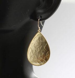 handmade teardrop earrings