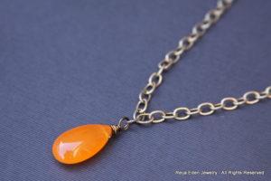 Handmade Jade Gemstone Necklace