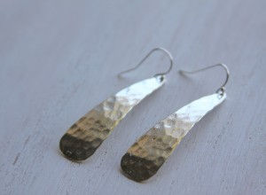 hammered drop earrings 300x220 Home
