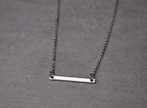 horizontal silver bar necklace 300x220 Home