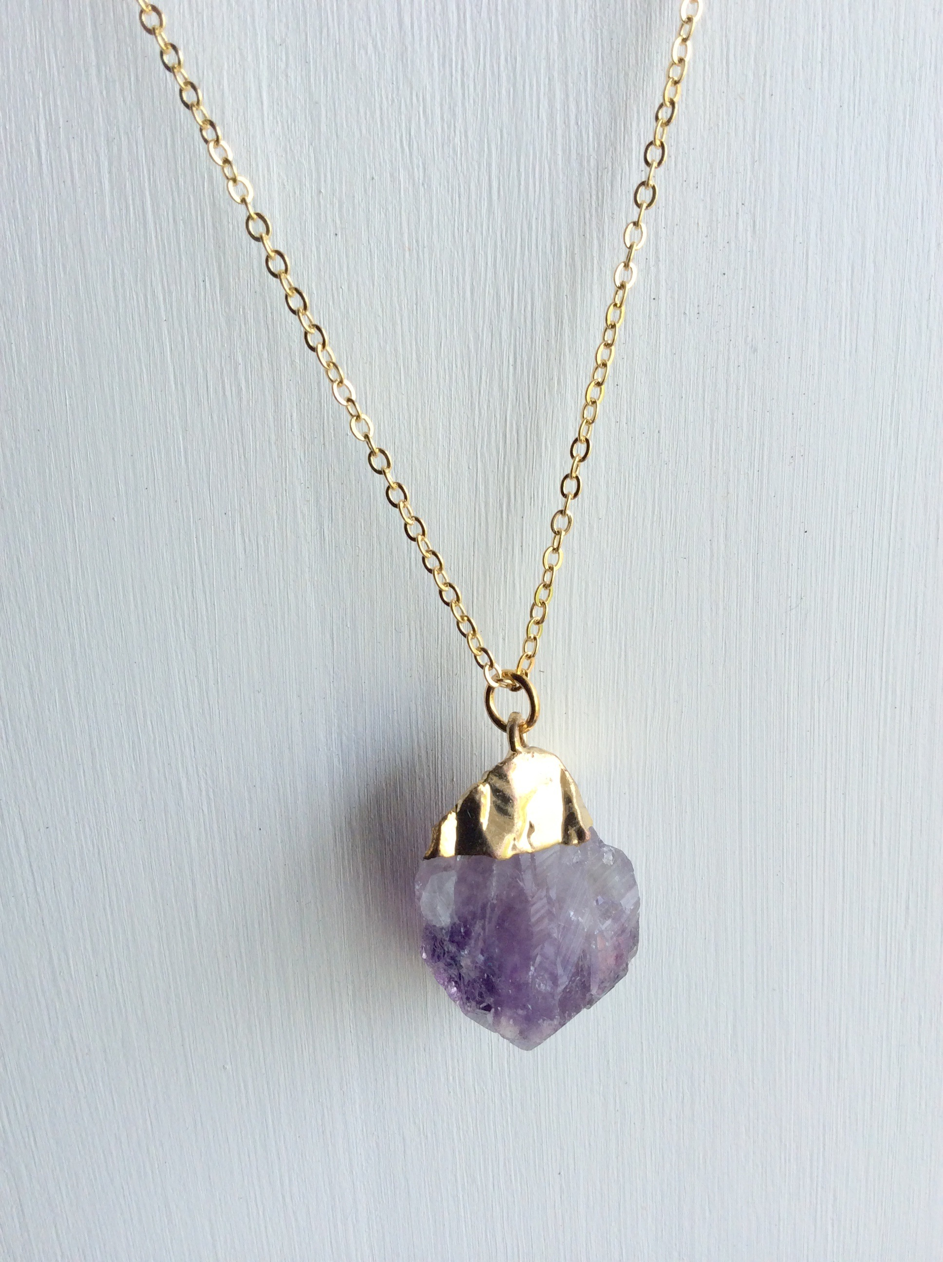 product necklace amethyst jewellery