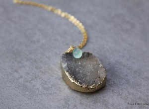druzy chalcedony necklace 300x220 Home