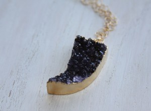 druzy horn necklace 2 300x220 Home