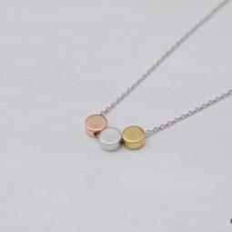 dot necklace