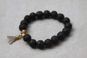 lava beaded bracelet
