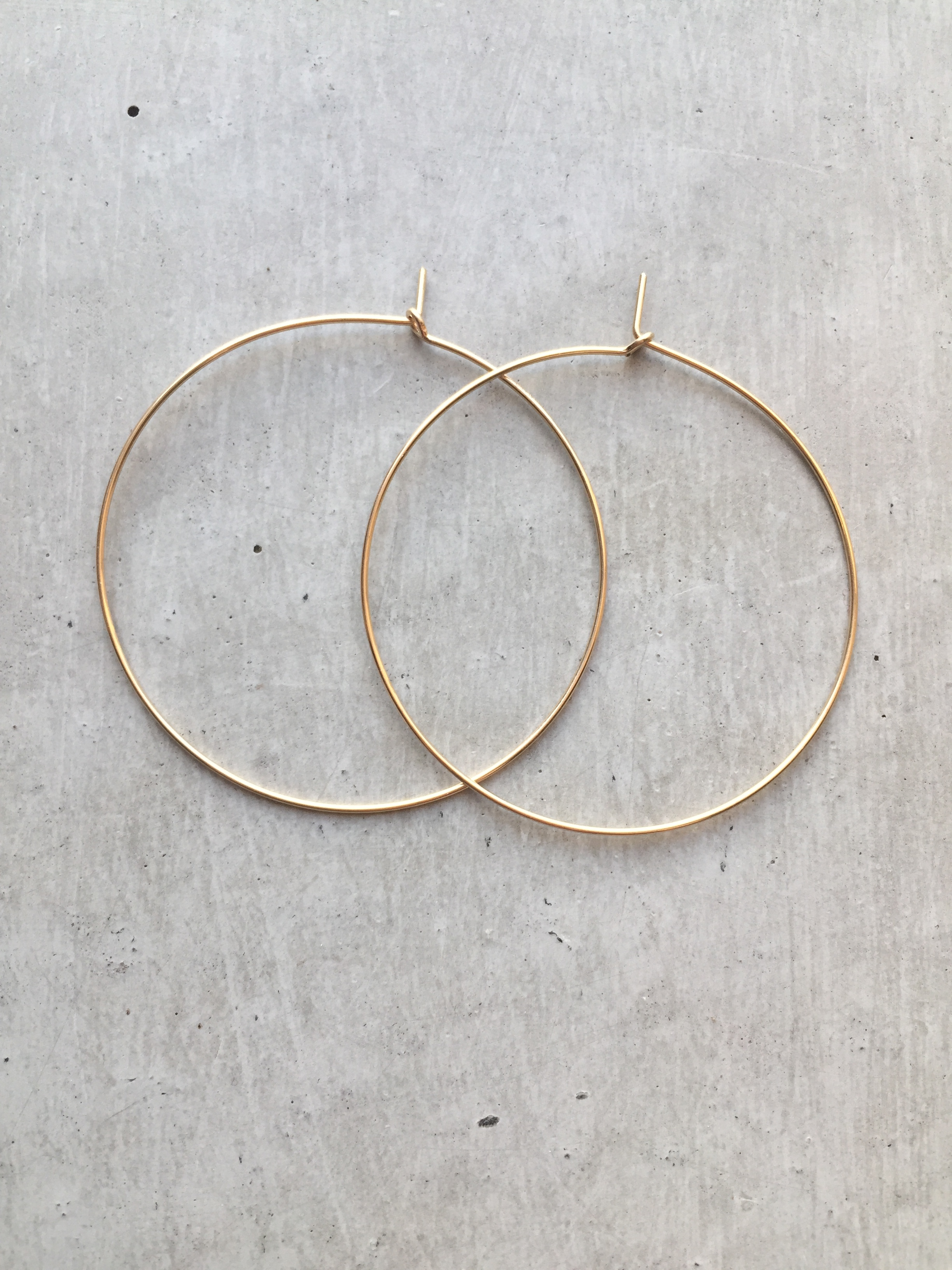 gold a textured storm in tribal babylon earrings teacup hammered product jewellery hoop