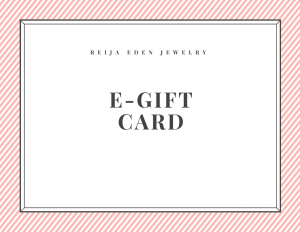 jewelry e -gift card