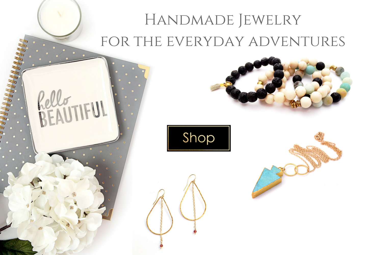 Handmade Jewelry for Everyday Wear by celebrity designer Reija Eden