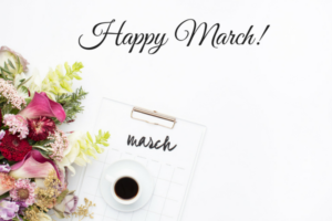 Happy March - spring