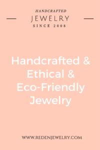 handcrafted jewelry - eco-friendly jewelry