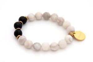 breathe charm bracelet