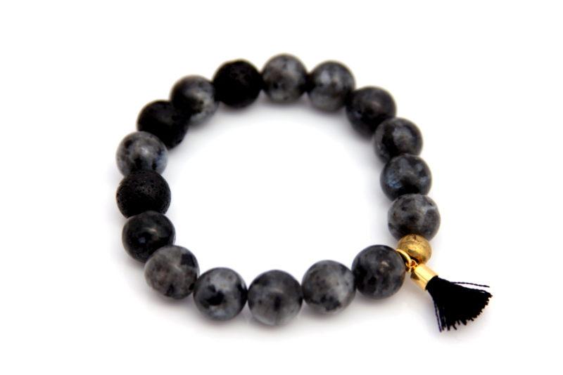 larvakite bracelet