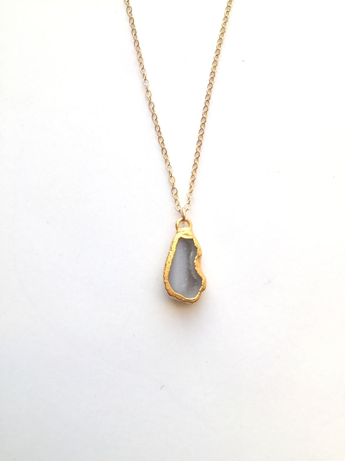 triangle grey charm crowdyhouse pendant shop tiny gold on necklace