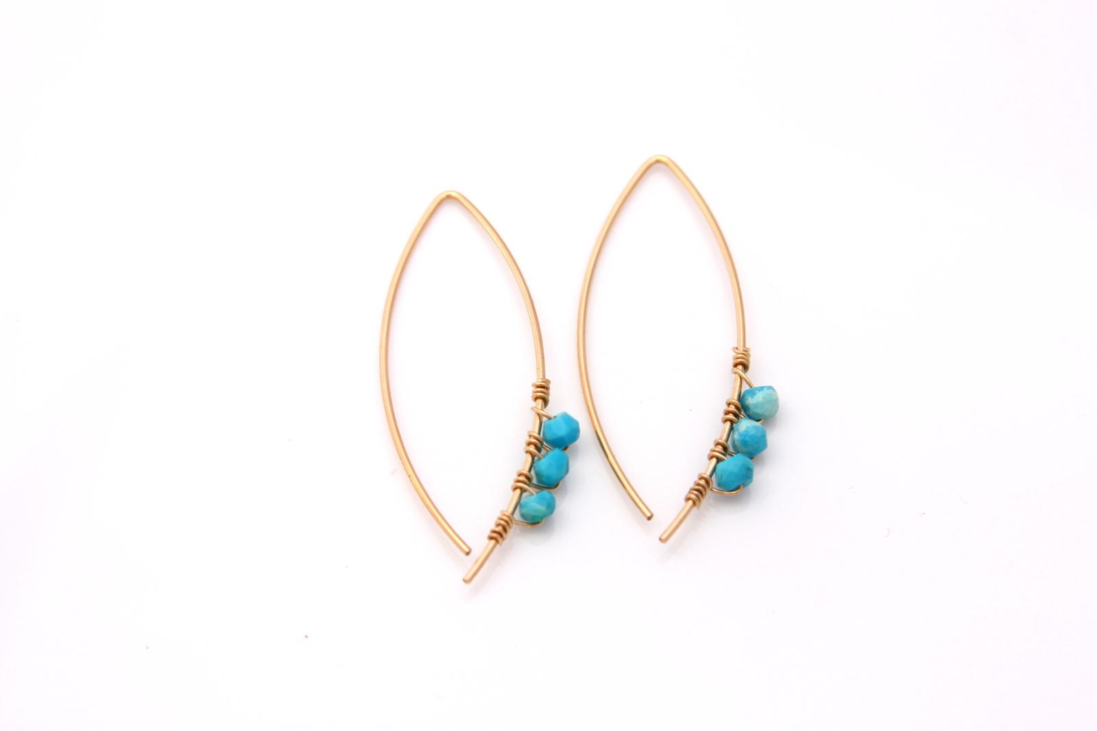 Modern earrings online shopping