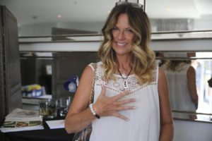 mo collins wearing reija eden jewelry bracelet