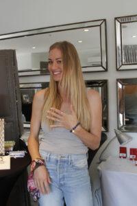 Yvonne Strahovski wearing Reija Eden jewelry