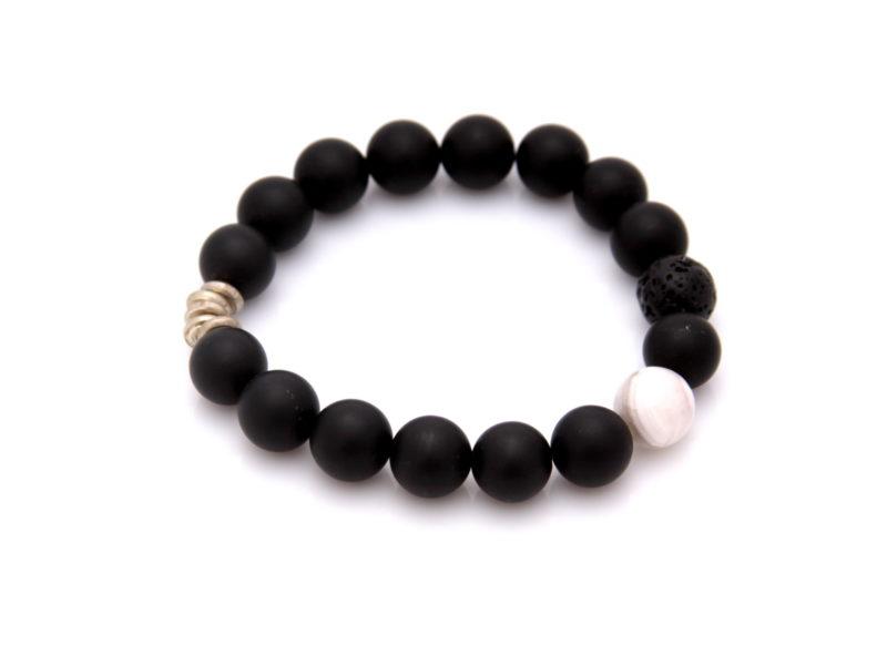 matte black onyx bracelet