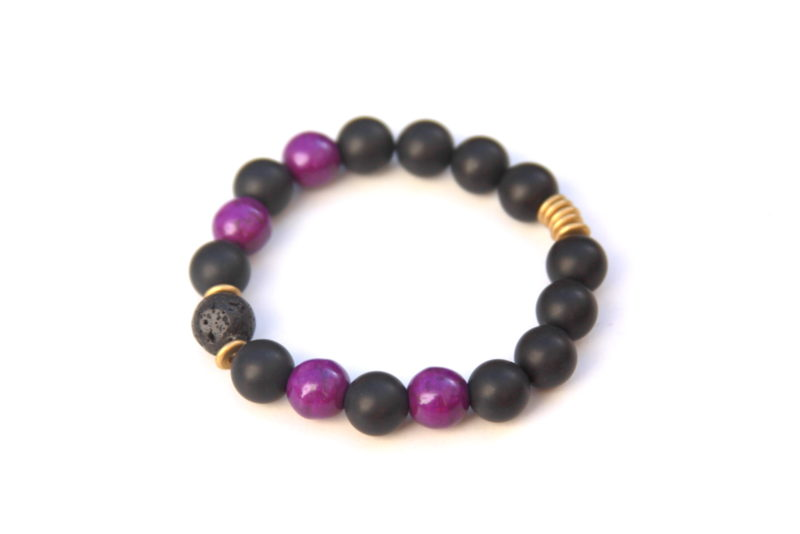 essential oil bracelet - awareness