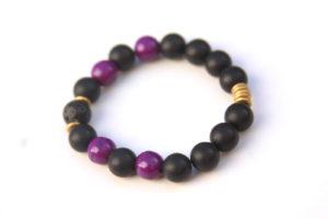 lava rock bracelet - pantone color of the year
