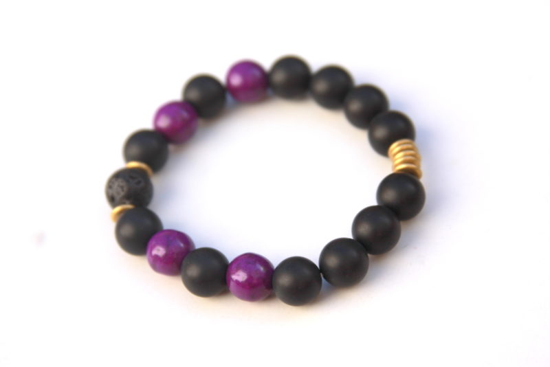 lava rock bracelet - pantone color of the year